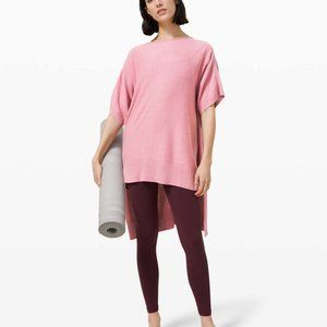 Lululemon Be At Ease Poncho Pink Taupe ONE SIZE